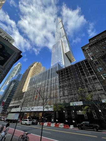 Central Park Tower Construction Set To Wrap Up