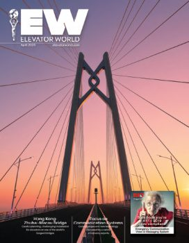 Elevator World | April 2020 Issue Cover