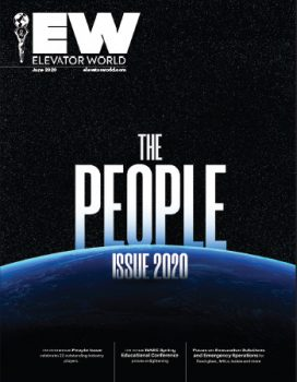 Elevator World | June 2020 Issue Cover