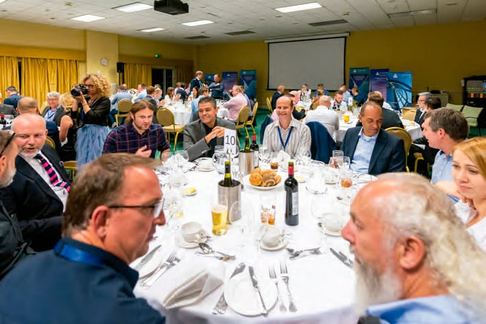 The symposium dinner given the evening of the first day offered in a relaxed setting that promoted camaraderie and collegiality.