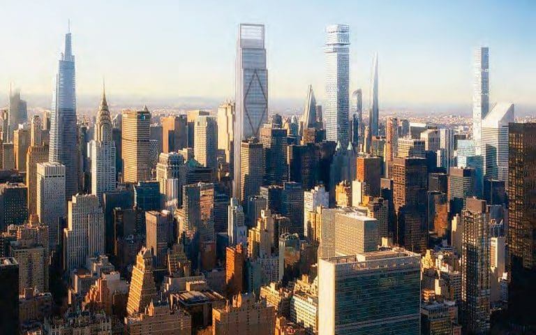 Towers-are-planned-in-Manhattan-and-Queens-and-an-icons-elevator-system-is-modernized