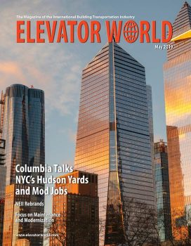 Elevator World | May 2019 Cover