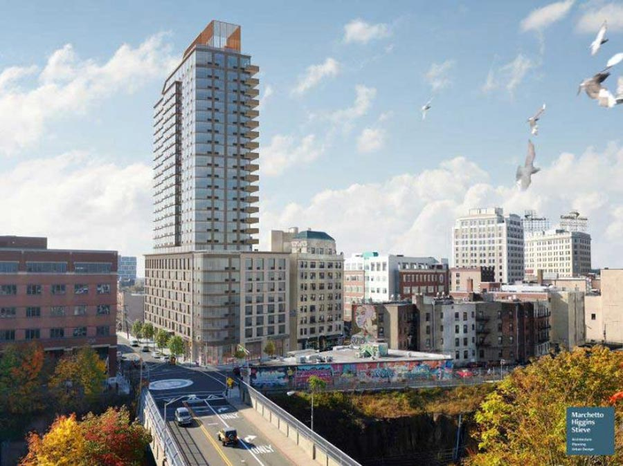 Jersey City Officials Approve 26-Story Mixed-Use Tower