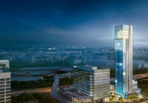 Test-tower-facade-is-reimagined-and-towers-are-planned-near-a-MARTA-station